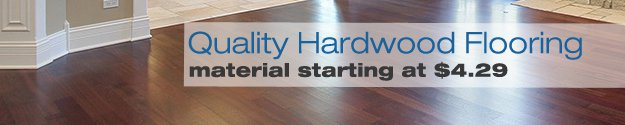 hardwood flooring from $4.29 newburgh