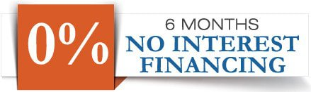 Interest Free Financing and Specials